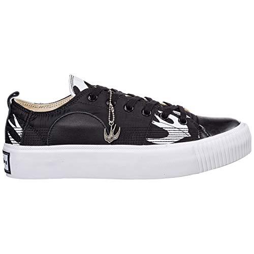 MCQ Alexander McQueen Herren Plimsoll Platform Sneaker Black - White 41 EU