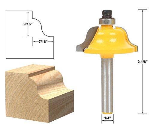 AKUTA 1/10,2cm Schaft High Qualität römischen ogee Einfassung und Formen Router Bit Holz Werkzeug Holz-Router Bits