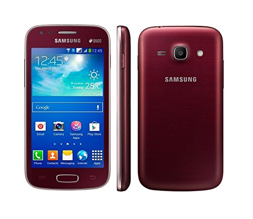 Samsung Galaxy Ace 3 LTE GT-S7275R Wine Red Android Smartphone 5MP Kamera 8GB Speicher S7275R Rot Ohne Simlock -