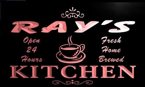 pc1173-r Ray's Coffee Kitchen Bar Neon Beer Sign Barlicht Neonlicht Lichtwerbung