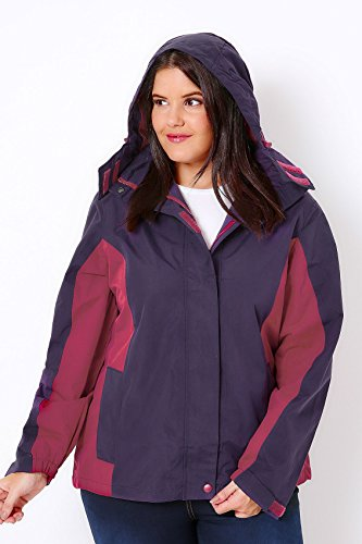 Yours Clothing - Manteau imperméable - Femme Violet