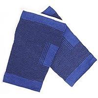 A-YSJ Rodillera 2 Piezas De Elástico Azul Rodilleras Azul Rodilla Rodilleras Soporte Pierna Junta Elástica Vendaje De Apoyo Rodilleras (Color : Blue)