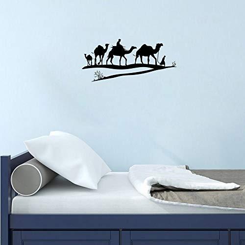 Kind Tier Aufkleber Wüste von Camel Wall Vinyl Decals Aufkleber Home Interior Decor für jeden Raum Haushaltswaren Wandbild Design Grafik Schlafzimmer Wandtattoo