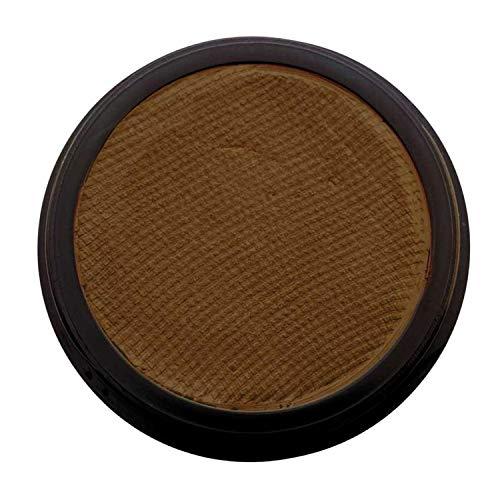 Eulenspiegel 189993 - Profi-Aqua Make-up Schminke - Dunkelbraun - 20 ml / 30 Gm