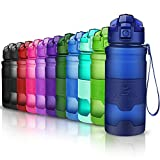 ZOUNICH Sport Trinkflasche BPA frei Auslaufsicher Wasserflasche 400ml