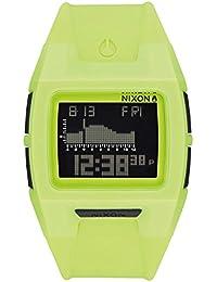Nixon Lodown Silicone, Color: Neon Yellow, Size: One Size