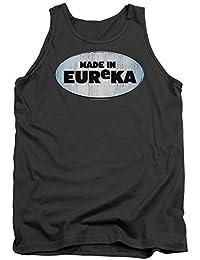 Eureka TV Show Syfy fabricado en Eureka adultos camiseta de tirantes camiseta