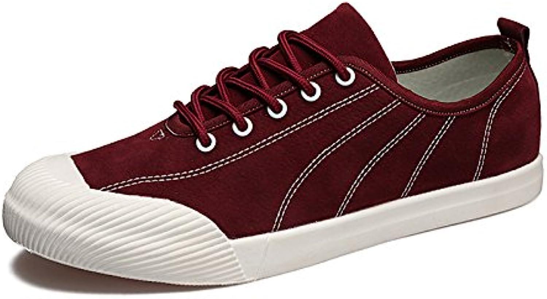 Lixus moda casual scarpe classiche espadrilli mens appartamento piede insieme le scarpe,Rosso,40. | finitura  | Uomini/Donna Scarpa