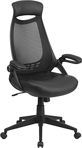 flash-furniture-high-back-executive-black-mesh-chair-with-leather-seat-and-flip-up-arms-by-flash-fur