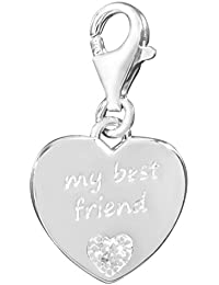 Thomas sabo - My best friend thomas bloqueo colgante plateado con diamant dc0024 - 725-14