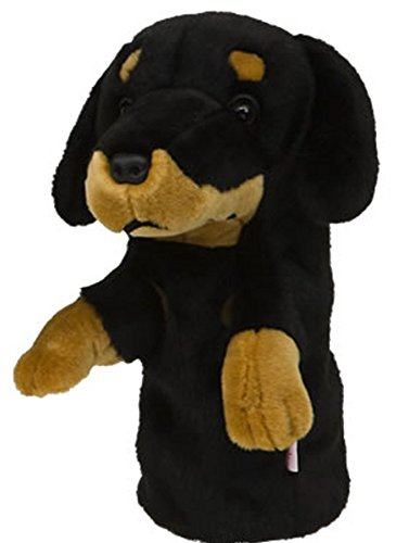 Dachshund by Daphne's Large Novelty Golf Club Driver 1 Wood Headcover 460cc Head by Daphne's -