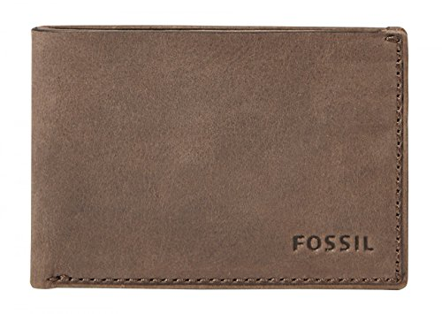 FOSSIL Nova Coin Pocket Bifold Brown