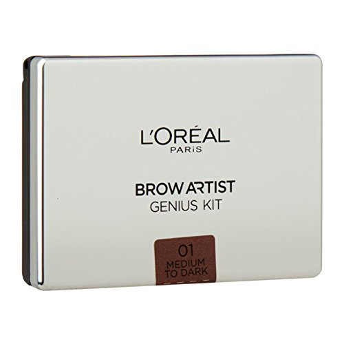 L'Oreal Paris Brow Artist Genius Kit Medium to Dark, 3.5g