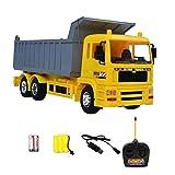 iBaste RC Ferngesteuertes Auto 1:20 Kanal 6 Engineering Truck Dump Kind Spielzeugauto vorbildlicher Ingenieur Truck 2.4 GHz elektrisch simuliertes Gabelstapler-Spielzeug mit voller Funktion