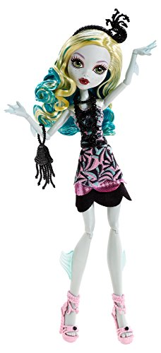 Mattel Monster High BDF24 - Licht aus Grusel an Lagoona, Puppe (Lagoona Monster High)
