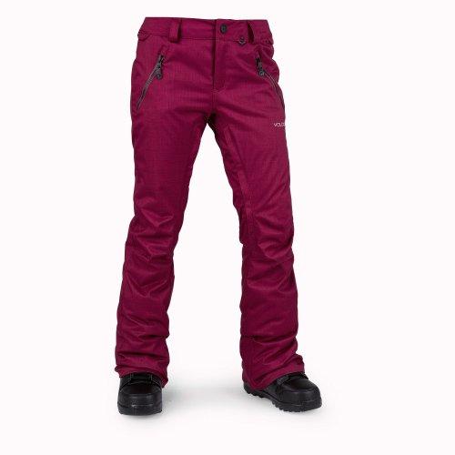 Volcom Women's Snowboardhose Calico Insulatedulated Pant Snowboard Pants