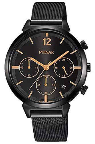 Pulsar casual orologio Donna Analogico Al quarzo con cinturino in Acciaio INOX PT3945X1