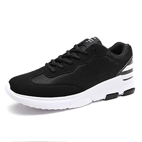 Transpirable Hombres Zapatos Deportivos Zapatillas De Deporte Zapatillas De Deporte Zapatos Ocasionales De Gran Tamaño Euro Talla 39-46 Negro