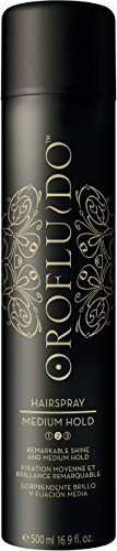 Orofluido Hair Spray Medium Hold 300 ml pour une brillance exceptionnelle & moyennes Maintien