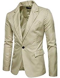 Saoye Fashion Blazer da Uomo Elegante Blazer da Sposa Tuxedo Slim Fit da  Giovane Uomo Vintage 50e34213668