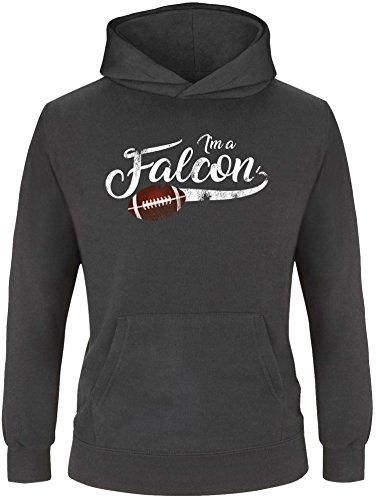 con | American Football Kinder Hoodie (Falcon Handschuhe Kind)
