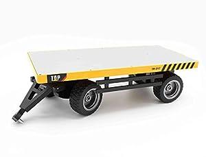 Top Race Accesorio de la losa del portador del camión para la carretilla elevadora RC de control remoto TR-216, Heavy Metal lleva más de 26 lbs. TR-217