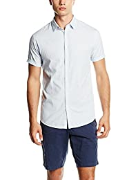Jack & Jones Jcobrad Shirt S/S No Pocket, Chemisier Business Homme