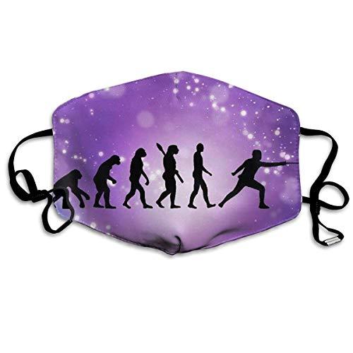 Mundmaske, Staubmasken, Grippe-Allergene-Masken Evolution Fencing Dust Mouth Mask,Cartoon Anti Dust Pollution Mask with Adjustable Straps Mouth Mask