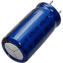 AERZETIX: 2 x Condensador quimico LOW ESR 470µF ±20% 25V THT 105°C 10000h Ø10x20mm radial 62m? 1000mA C14637