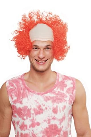 WIG ME UP - Party/Fancy Dress/Halloween WIG Circus Clown semi