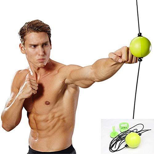 GYFHMY Boxing Reflex Ball Ausrüstung - Verbesserung der Reaktionen Agility Boxsack, weiche PU, einfache Installation an der Decke - Perfekt für zu Hause, Fitnessstudio Hand Eye Coordination