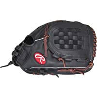 Rawlings guante de jugador Softball Serie, 12,5 pulgadas, mujer, color Black Finger Shift, tamaño 32 cm