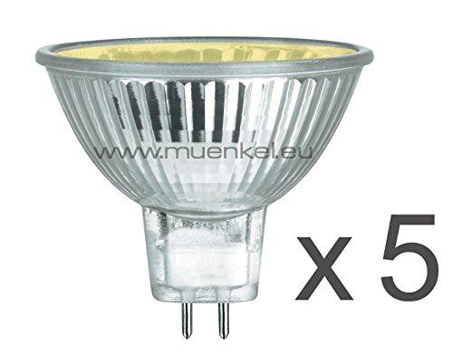 5-er Lampenset für Opti-myst 3D-Feuer (Halogen Ersatz Leuchtmittel)