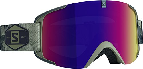 Salomon Xview - Gafas de esquí, color negro (solar infrared)