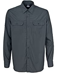 Trespass - Camisa de manga larga Estilo Button Up Modelo Solve hombre caballero