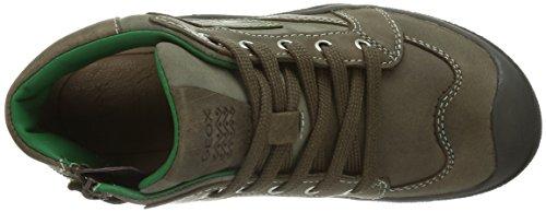 Ataque Sneakers Jovem cinza Ouro Geox Jr Coffeec1103 Alta BZwrBq