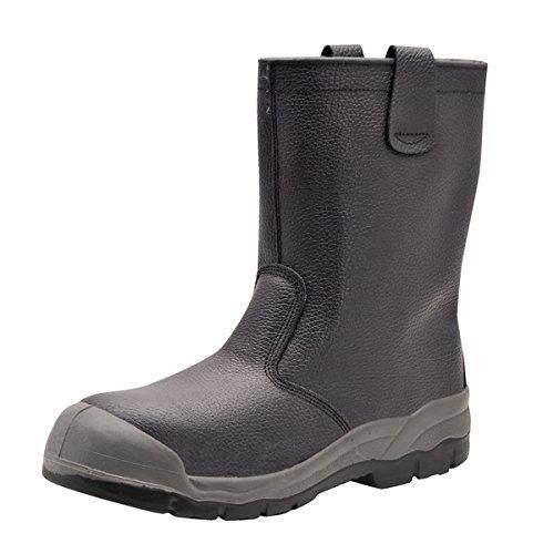 Portwest FW13Arbeitsstiefel, Gr. 38, FW13BKR46 Resistant Steel Toe Schuhe