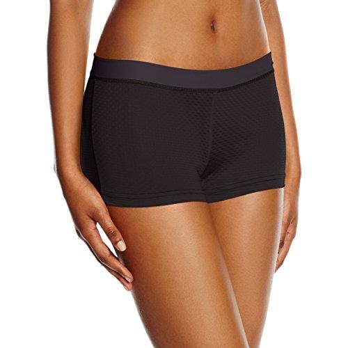 ExOfficio pantaloncini intimi da donna W GNG Sport Mesh 2pollici, Donna, W GNG Sport Mesh 2'' Short, Black, XL