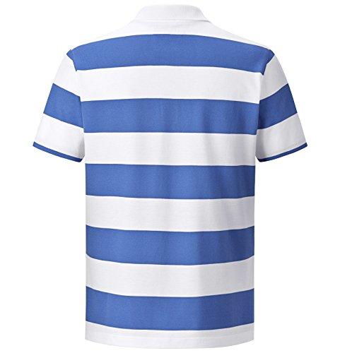JAN VANDERSTORM Herren Poloshirt TJURE in Übergröße | Große Größen | Plus Size | Big Size | XL - 7XL Weiß