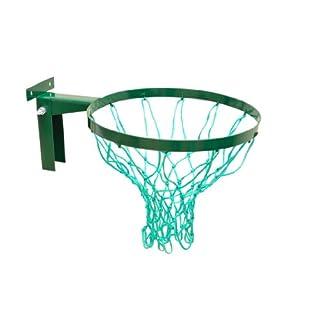 British Made stark Netball Hoop aus der Avonstar Classic Range (Robust Halterung, 2Jahre Garantie) mit Top Qualität 3mm Bindfäden Net.