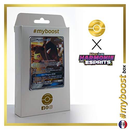 Mystibule-GX (Mawile-GX) 141/236 - #myboost X Soleil & Lune 11 Harmonie des Esprits - Box de 10 cartas Pokémon Francés