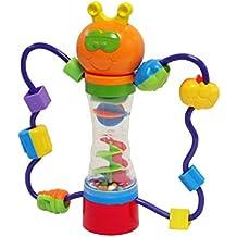 Lernen und Spielen Cute Schmetterling Tumbling Perlen Rassel Spielstation–geeignet ab 6Monaten