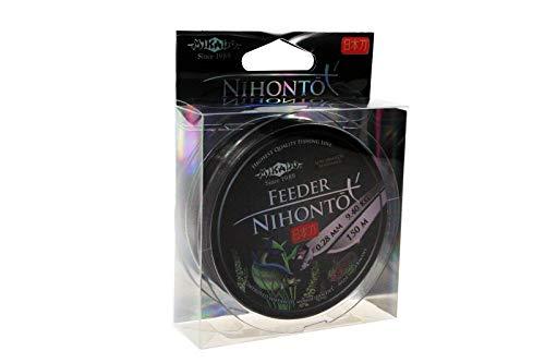 Mikado Angelschnur Nihonto Feeder monofile 0,14-0,30mm Spule 150m (0,28mm/9,40kg)