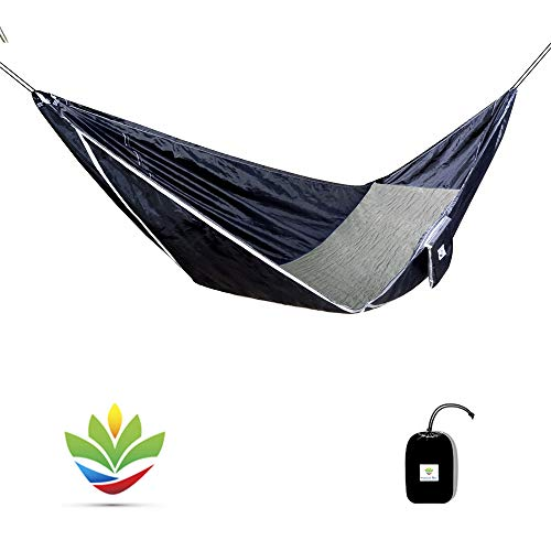 Hammock Bliss Sky Bed - Hangs Like A Hammock But Sleeps Like A Bed - The Flattest Laying Camping Hammock On Earth - Eno Hängematte Net