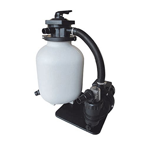 Sandfilter SQ-Super Aquaforte, Poolfilter, Sandfilteranlage 550 W für Pool, Schwimmbecken, mit Pumpe, 10 m³/h