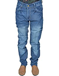 Leo Men's Blue Stretchable Slim Fit Jeans (J11)