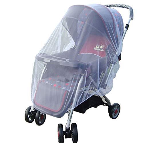 mxdmai Kinderwagen Insektenschutz Netz Baby Trolley Zubehör Anti-Mücken Vorhang