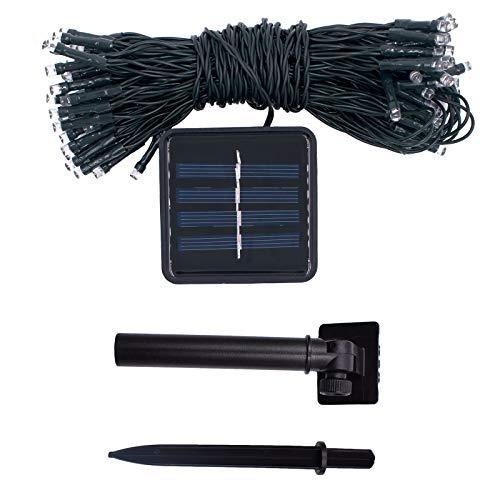 OUNONA Solarbetriebene Garten-Sonnenschirm-Regenschirm-Ketten-Licht-feenhafte Lichter