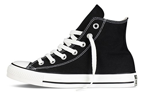 Converse Chuck Taylor All Star, Unisex-Erwachsene Hohe Sneakers, Schwarz (M9160 Schwarz) 38 EU -