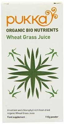 Pukka 110g Organic Wheatgrass Juice Powder by CLFDI